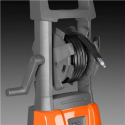 Hose reel Convenient and efficient storage of hose with easy roll-up.