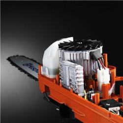 Efektīvs bezsuku motors Mūsu pašu izstrādātais, uzlabotais bezsuku motors ir par 25% efektīvāks nekā standarta suku motors. Tas nozīmē, ka motors nodrošina augstu un vienmērīgu griezes momentu.