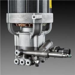 Металлическая конструкция насоса Насос имеет полностью металлическую конструкцию для обеспечения длительного срока эксплуатации.