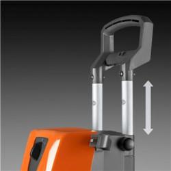 Алюминиевая телескопическая рукоятка Долговечная выдвигающаяся рукоятка сделает транспортировку и хранение мойки простым и удобным.
