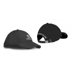 Baseball cap, black, Husqvarna