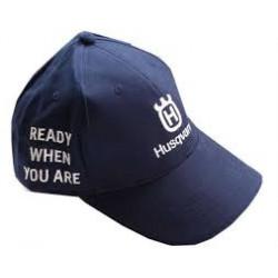 Baseball Cap Navy Blue, Husqvarna