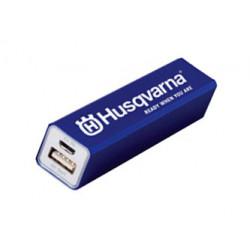 Ārējais akumulators Alu 2600mAh, Husqvarna