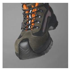 Pilnīga gumijas aizsardzība Zābaka priekšējā daļa pastiprināta ar papildus gumijas aizsardzība, ERP.