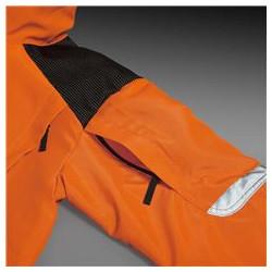 Kabatas uz pleciem polsterējuma ievietošanai.