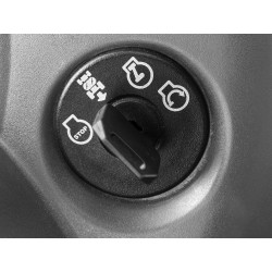 Система управления реверсом (ROS) Для повышения безопасности. Система ROS выключает режущие ножи при движении задним ходом