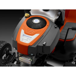 Husqvarna Endurance Series Engine Developed for Husqvarna by Briggs and Stratton this engine features premium air filtration, chrome plated valves, super finished bearing surfaces and platinum sparkplug for extreme durability and superior performance.