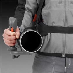 Utilize full blow force with minimal arm strain