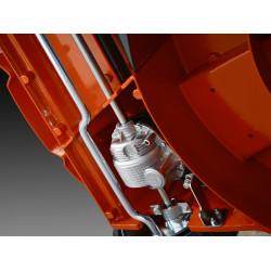 Трансмиссия в алюминиевом корпусе Трансмиссия профессионального уровня в алюминиевом кейсе создана для профессионального использования на протяжении длительного времени.