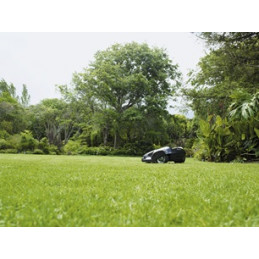 Отличный результат кошения Произвольный порядок движения газонокосилки Husqvarna Automower® гарантирует идеальное качество стрижки травы, в результате чего газон становится похож на красивый зеленый ковер. Острые, как лезвия бритвы, ножи аккуратно срезают траву со всех сторон, помогая ей расти крепкой и здоровой. Такая система стрижки также эффективно предотвращает появление мха на газоне.