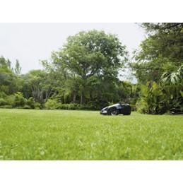Izcili pļaušanas rezultāti Pateicoties Husqvarna Automower® dažādajiem pļaušanas virzieniem, kur zāle tiek maigi nogriezta no visām pusēm, ir perfekti nopļauta un izskatās gluži kā paklājs. Aizkavē sūnu veidošanos.