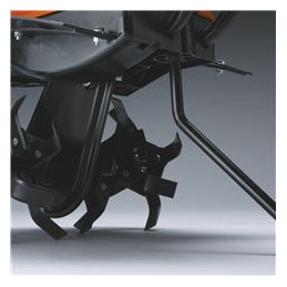 Easy-adjust drag bar, for different working conditions.