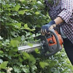 Низкий уровень шума Двигатель с технологией низкого уровня шума и специальный дизайн делают эти ножницы для живой изгороди тихими и легкими в использовании. Это очень важно для тех, кто работает в жилых районах.