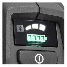 3-ātrumu režīms ļauj jums pagarināt ierīces darbības laiku, pielāgojot izejošo jaudu pašreizējiem darba apstākļiem.