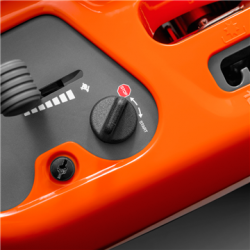 Turn key start Easy to get operating under any wetather conditions. No choking needed, just turn the key and go.