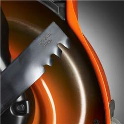 Нож CrownCut Нож CrownCut имеет инновационную конструкции, обеспечивающую непревзойденные чистоту среза и качество мульчирования.