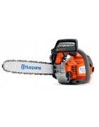 Gasoline chain saws for arborists